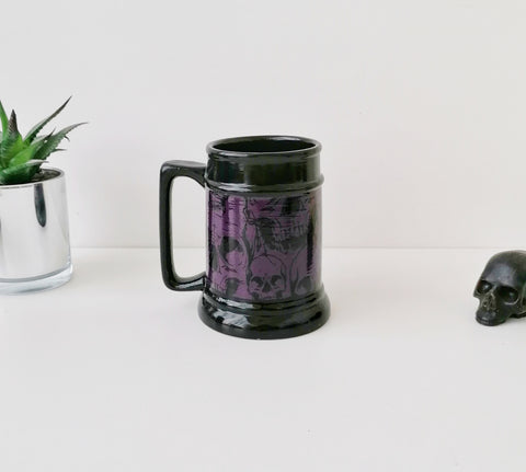 Purple Skull Tankard