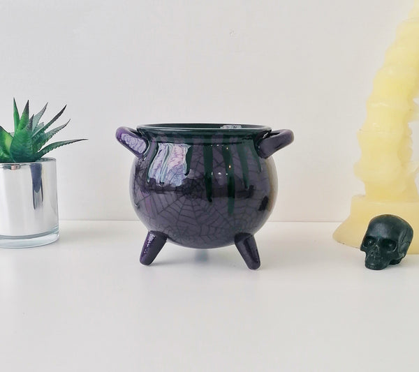 Purple Web Cauldron