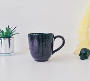 Purple Web Mega Mug