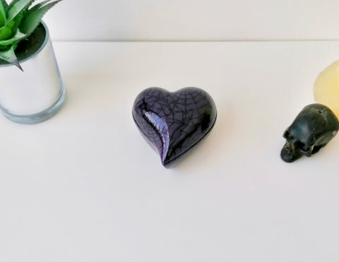 Purple Heart Trinket Dish