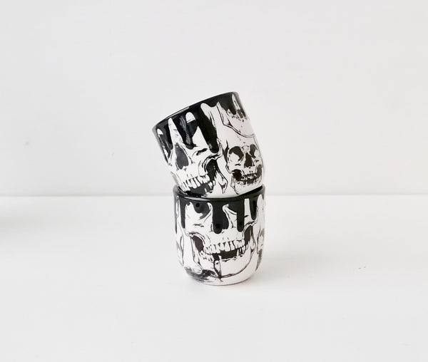 Skull Shot Glass Set of 2