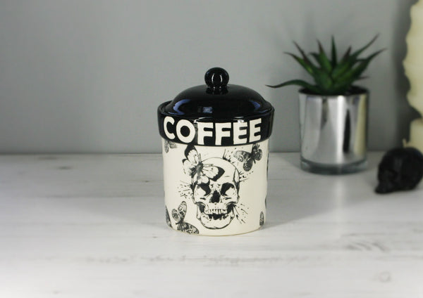 Skull & Butterfly Storage Canisters