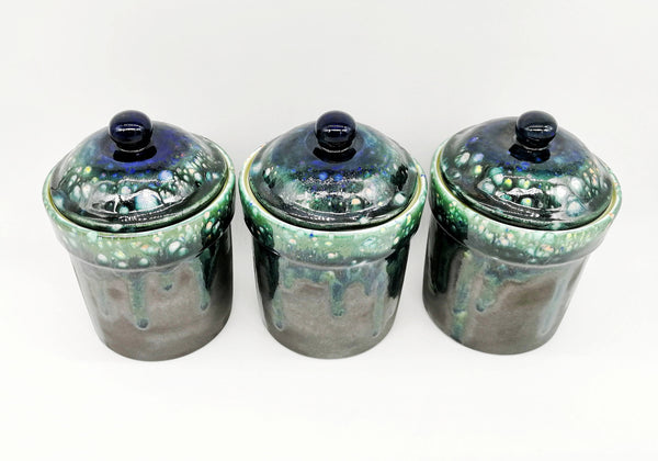 Crystal Glaze Canisters