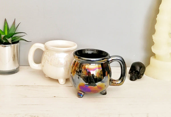 Oil Slick/Pearlescent Cauldron Mug