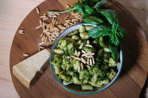 Gnocchi with pesto with Nonna Nerina and Family (Thursday)