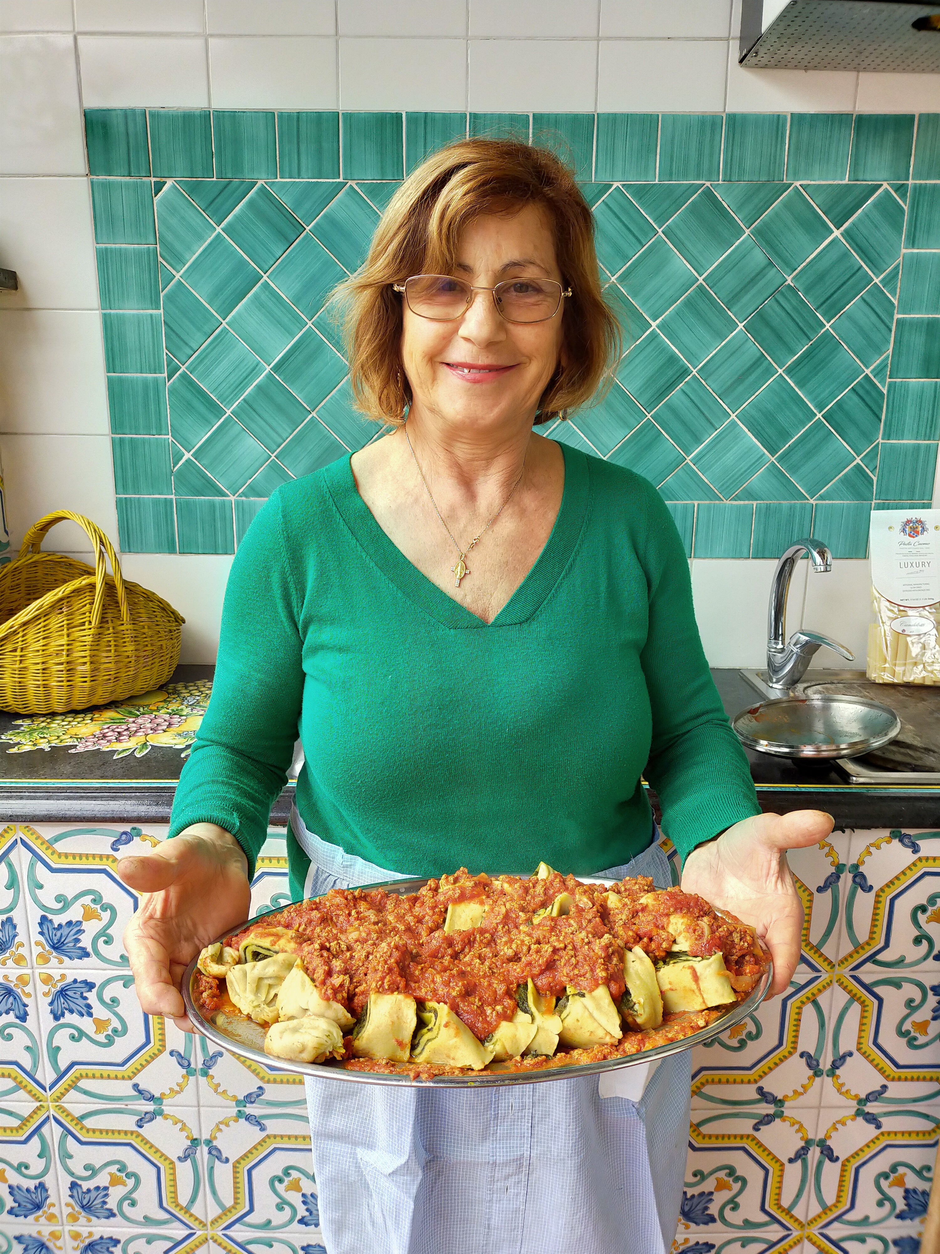 PRIVATE Virtual Cooking Experience with Nonna Giuseppina for AGEIST - MAY 9