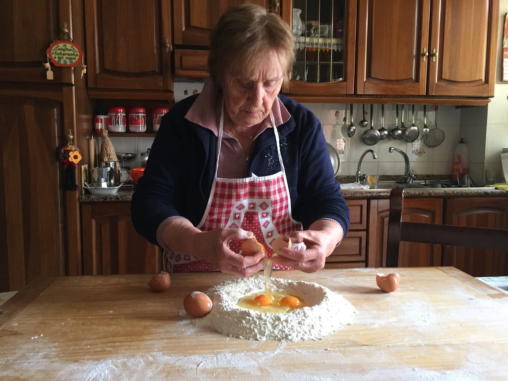 Private GROUP Pasta Class with Nonna Nerina
