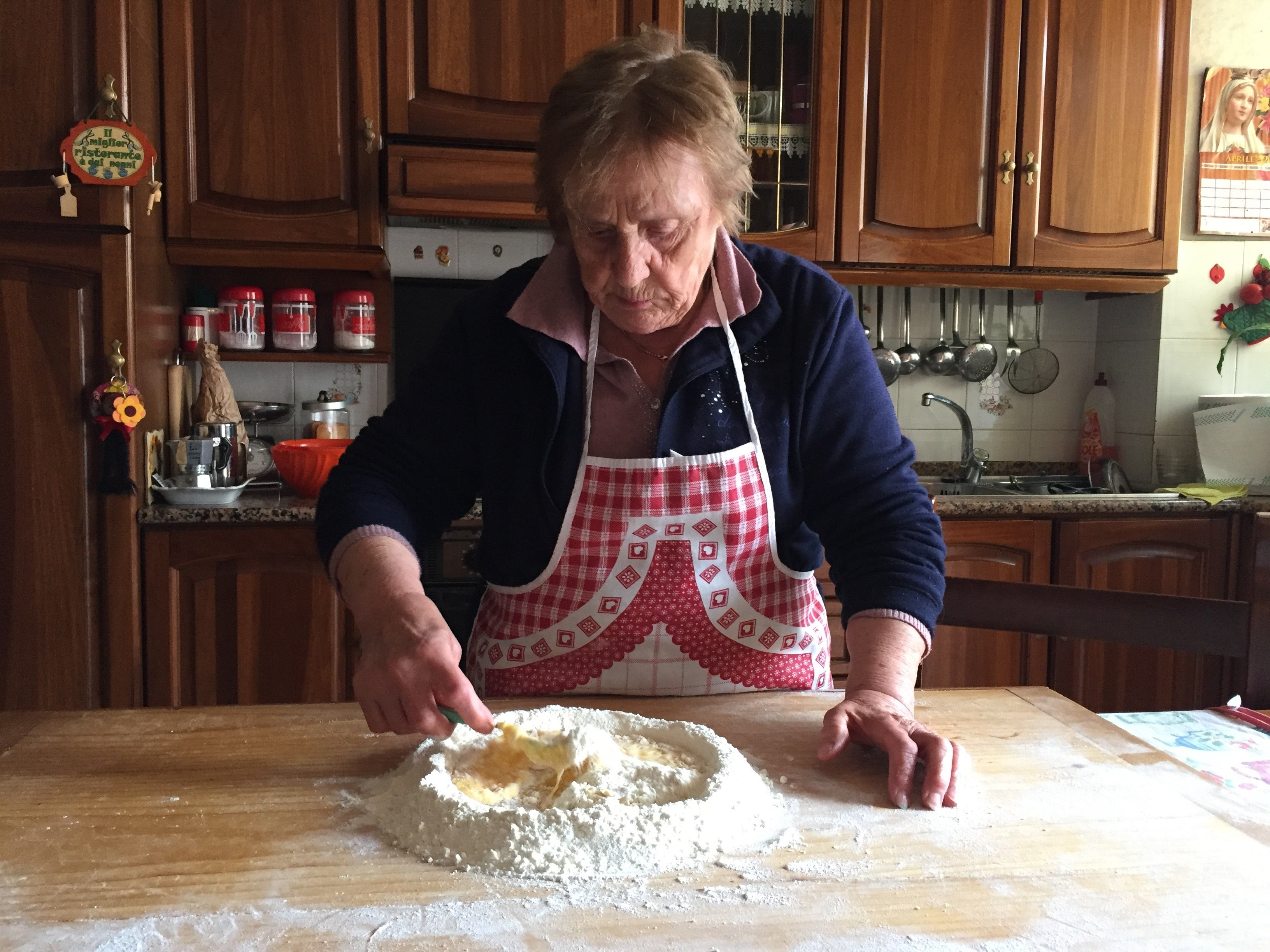 Private LARGE GROUP (10+) Pasta Class with Nonna Nerina