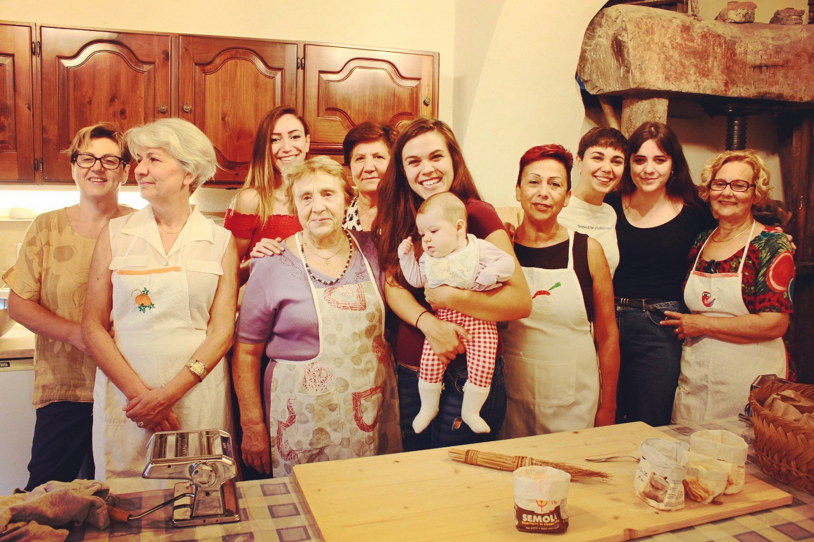 Ravioli with ricotta and spinach with Nonna Nerina and Family (Wednesday)
