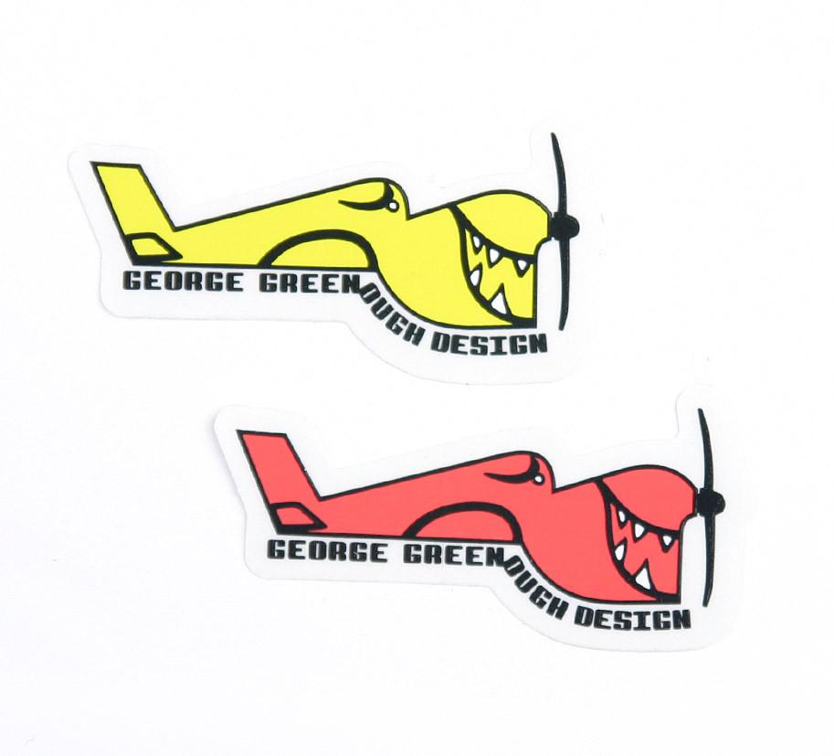 Stickers - George Greenough- Large- Set of 2