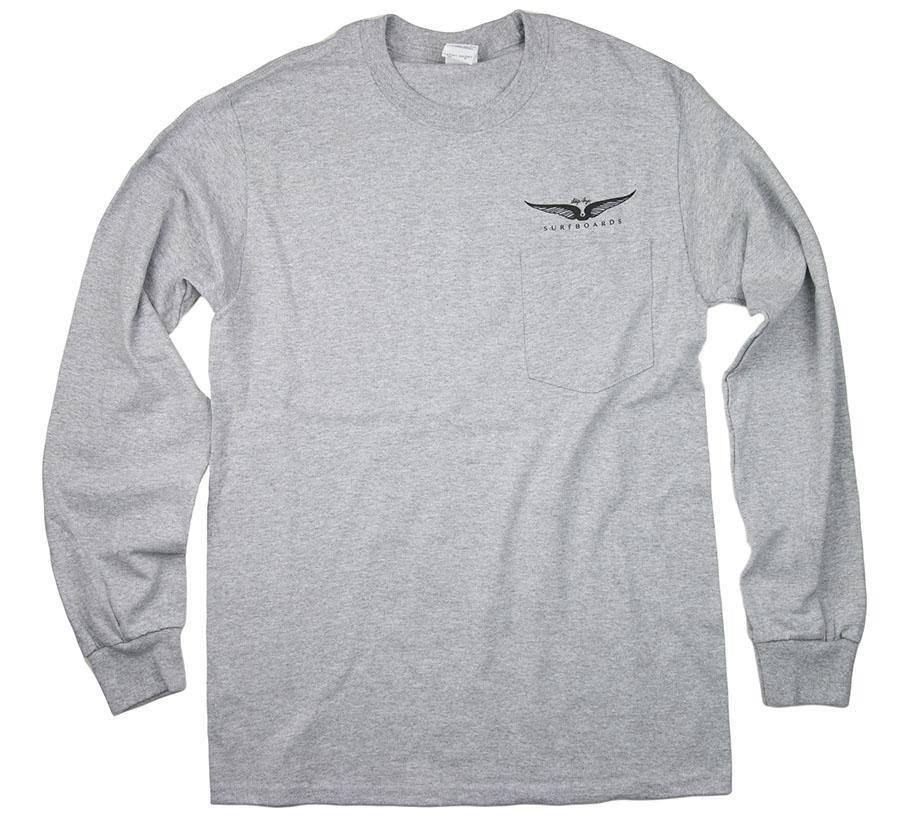 Skip Frye Long Sleeve Pocket T-Shirt