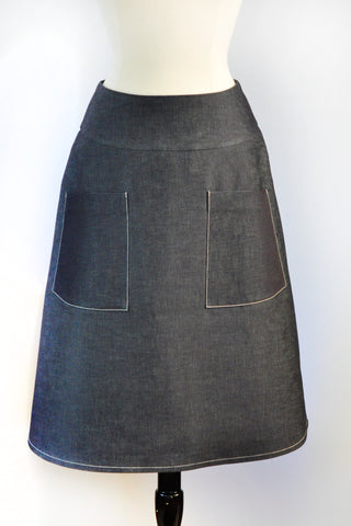 Zelda Skirt - Denim