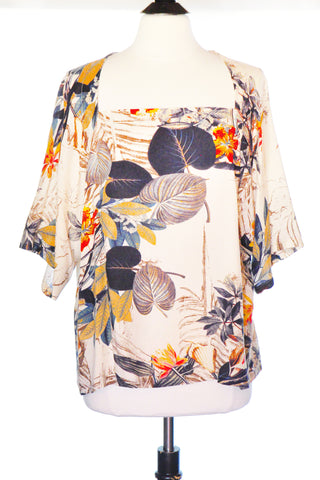 Rosie Top - Exotic Floral