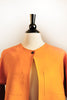 Alice Jacket - Short - Mustard Linen