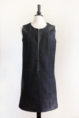 Penny Dress - Black Denim