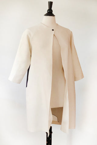 Alice Jacket - Cream Linen