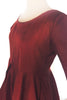 Ada Dress - Red Silk
