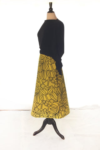 Zelda Skirt - Japanese Botanical Cotton