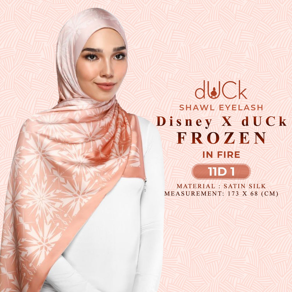 Disney x dUCk FROZEN Printed Shawl Collection