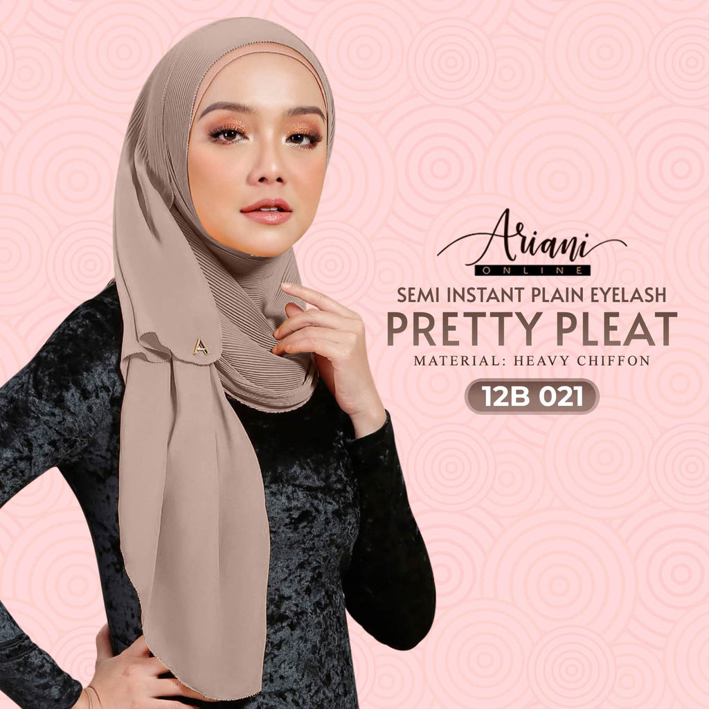 Ariani Pretty Pleat Semi-Instant Plain Eyelash Collection (Free Shipping)