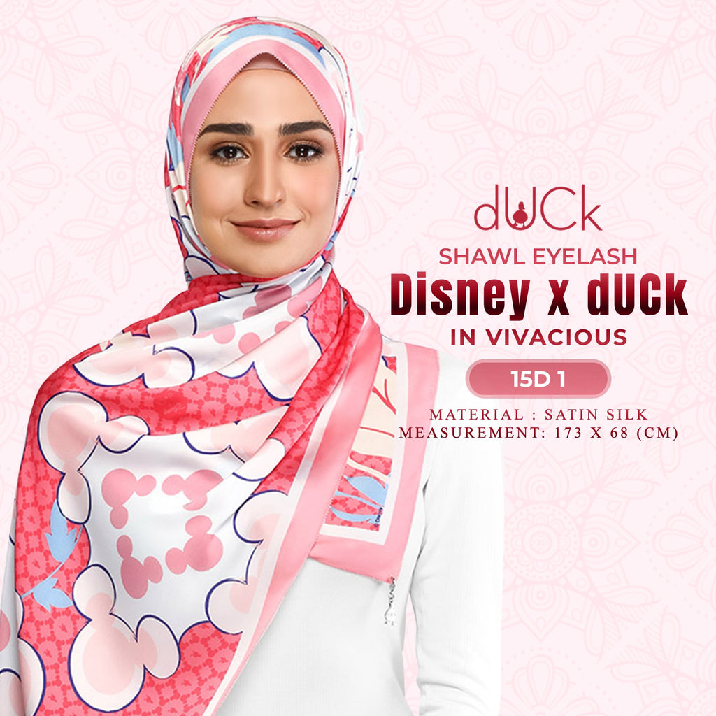 Disney x dUCk Mickey Shawl Collection