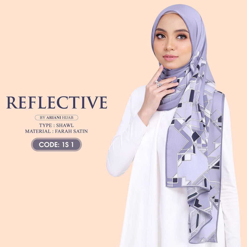 Ariani Shawl Reflective Collection