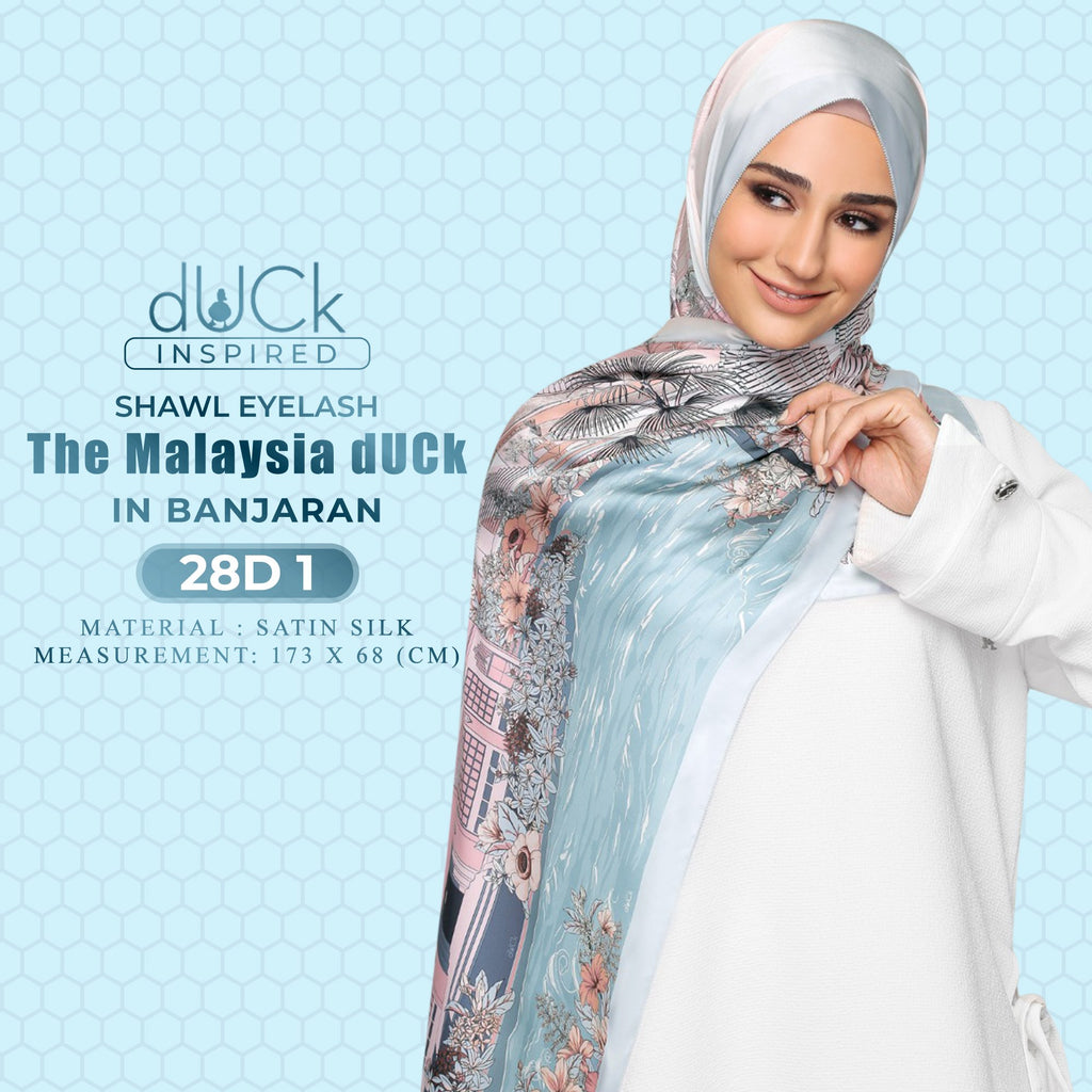 The Malaysia dUCk Shawl Collection
