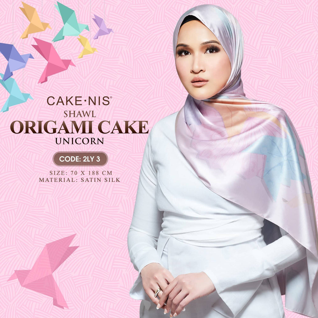 Cake-nis Origami Cake Shawl Collection