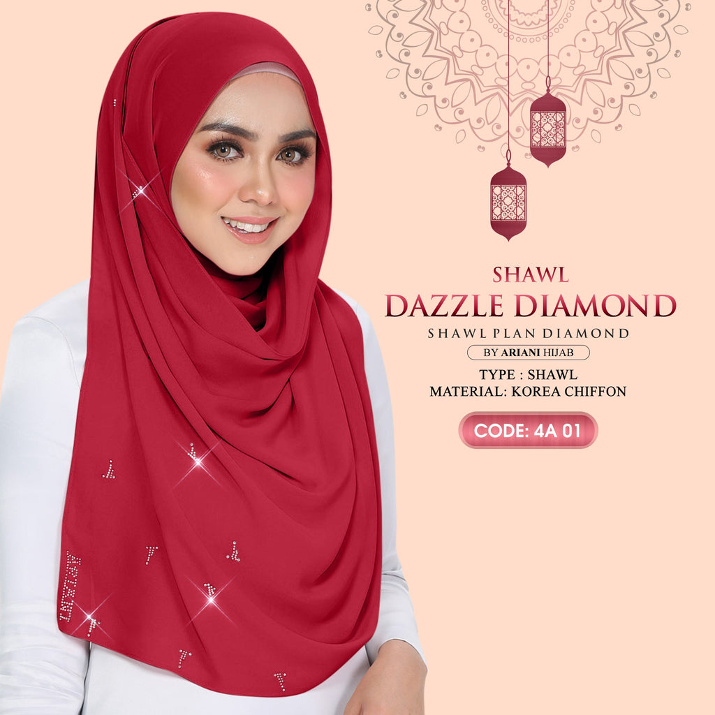 Ariani Shawl Dazzle Diamond Collection - Free Shipping