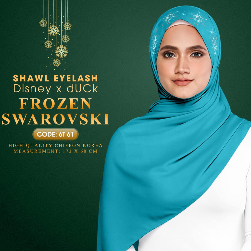 Disney x dUCk Frozen Swarovski Shawl Eyelash Collection (Free Shipping)