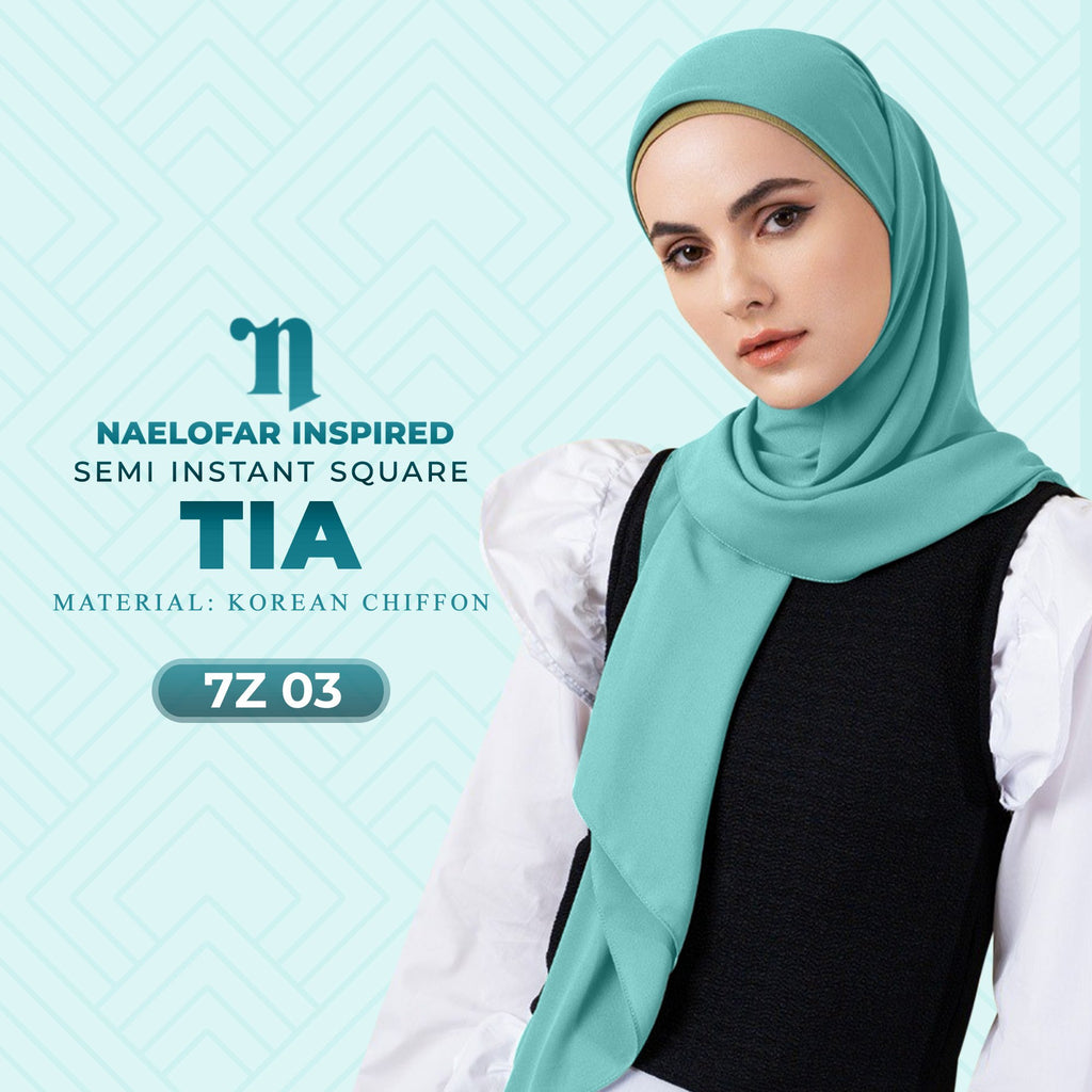 Naelofar TIA Semi Instant Square Collection