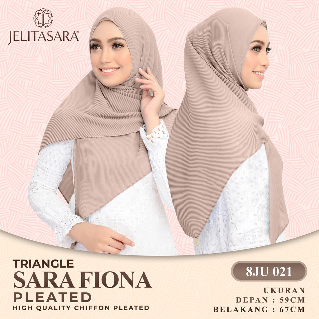 Jelitasara Triangle Sara Fiona Pleated Collection