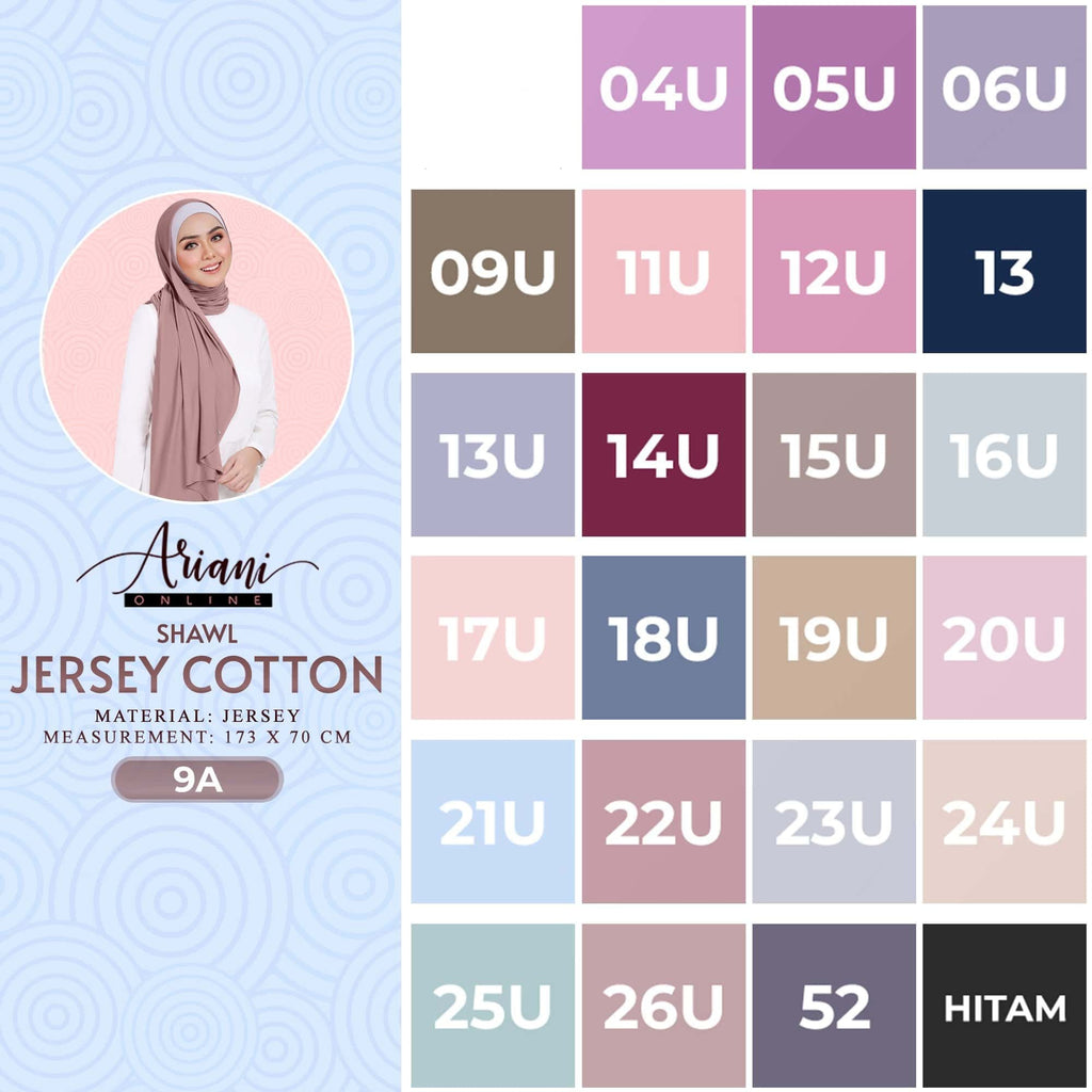 Ariani Shawl Jersey Cotton Collection