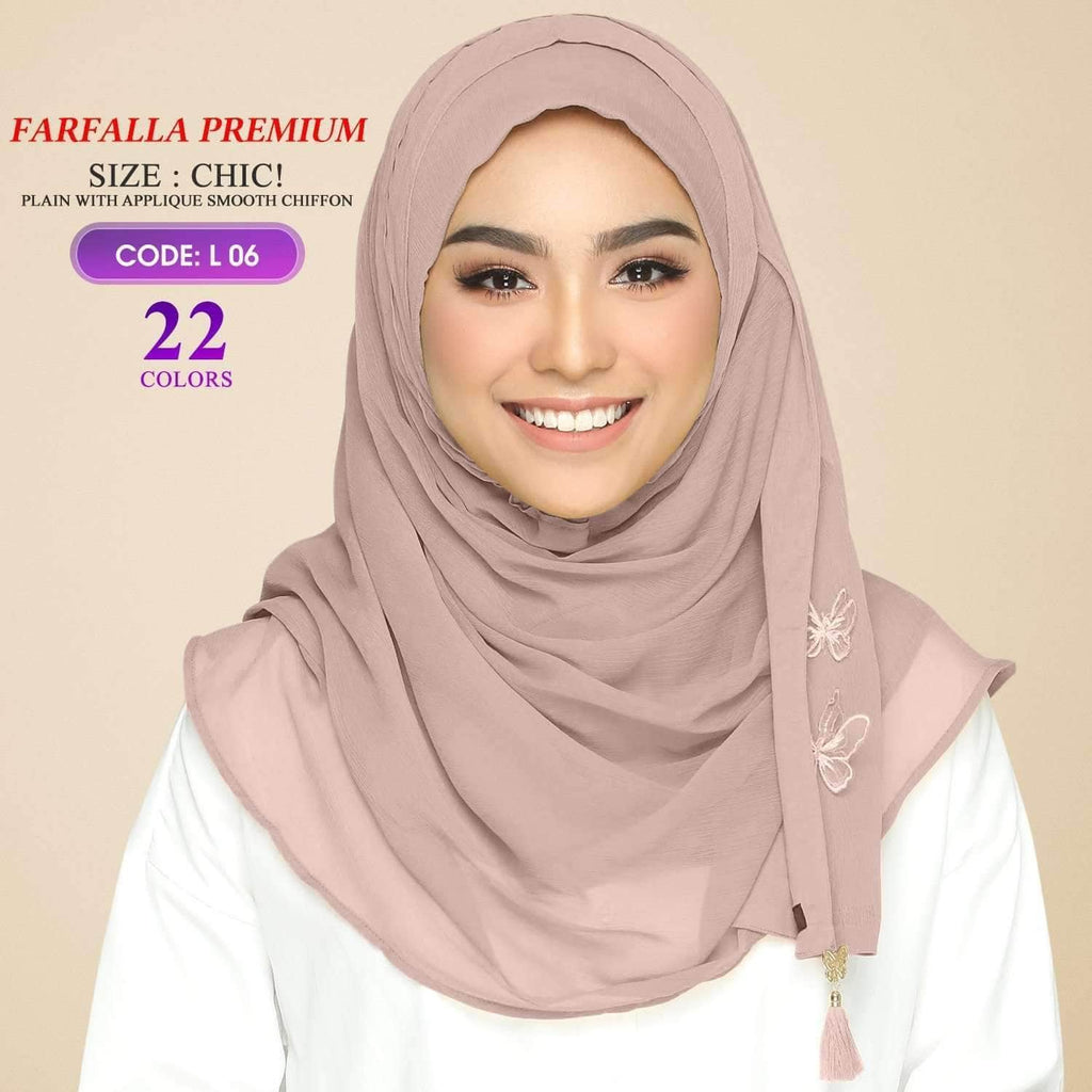 Bokitta Farfalla Premium Chic! Plain Collection