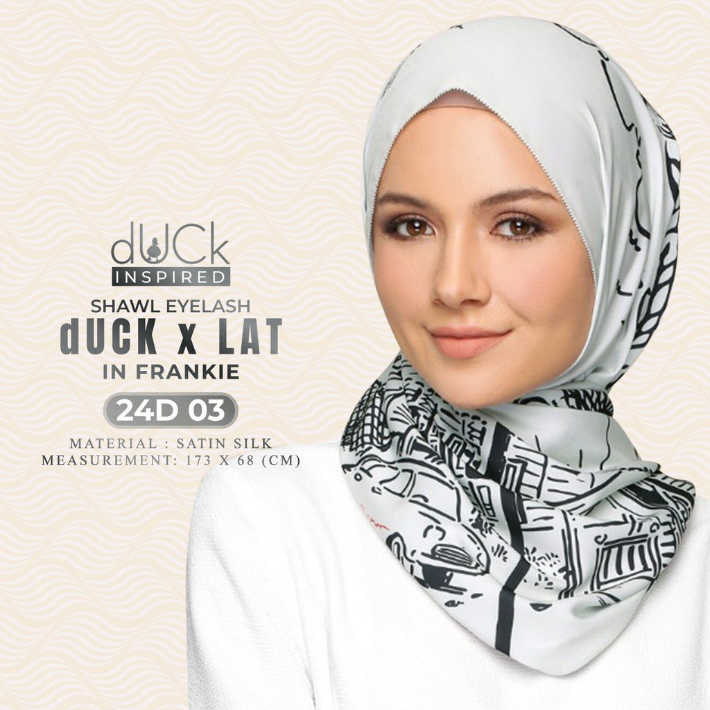 dUCk x LAT Shawl Collection