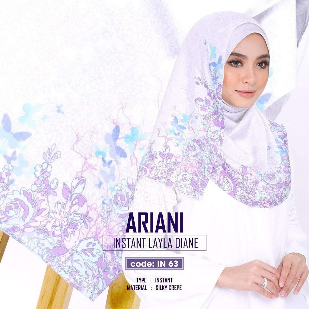 Ariani Instant Layla Diane New Collection 3 Colors (IN)