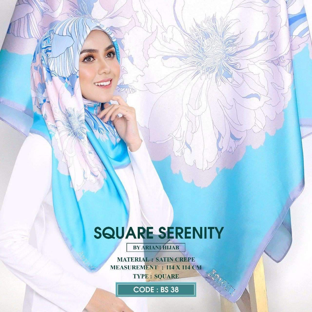 Ariani Square Serenity Collection (BS) - Free Shipping