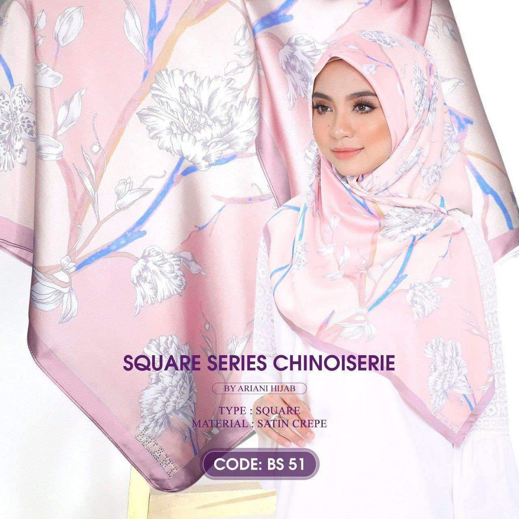 Ariani Square Series - Chinoiserie Collection (BS) - Free Shipping