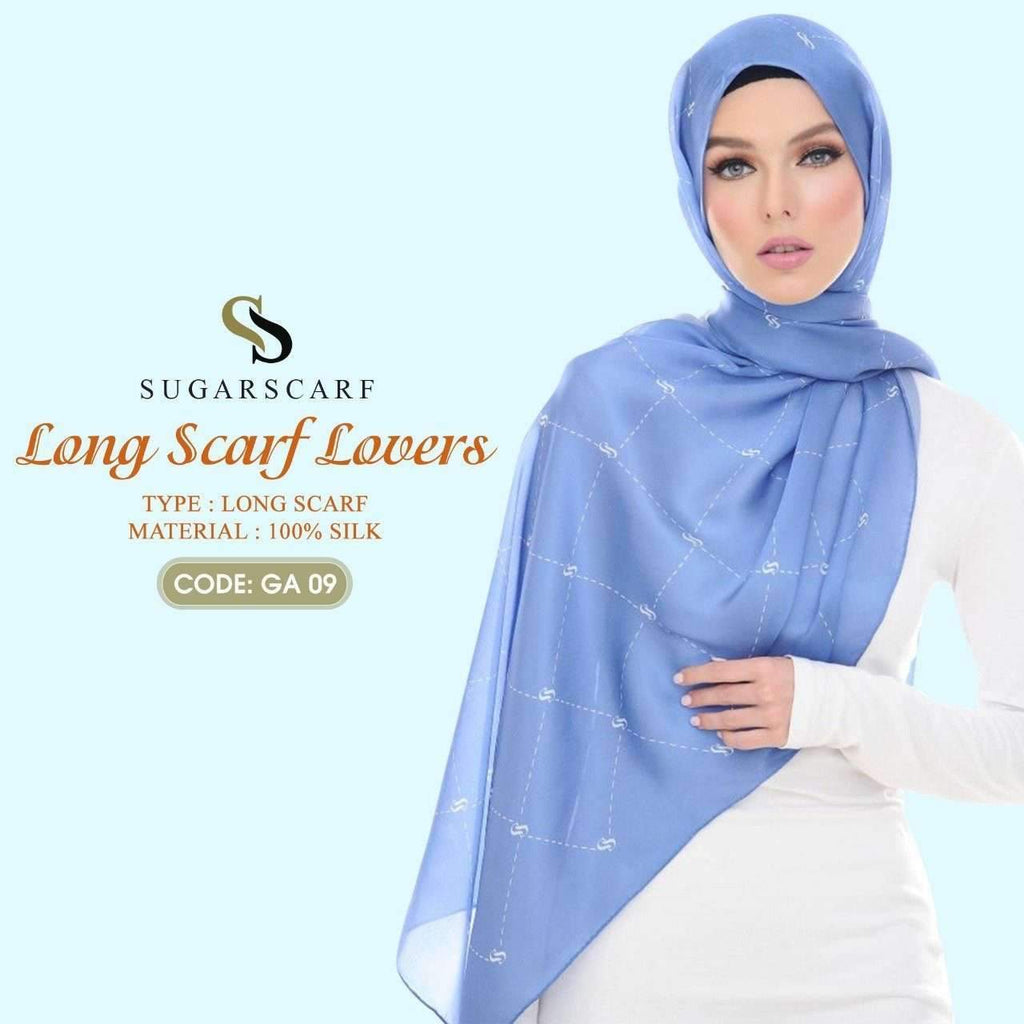 Sugar Long Scarf Lover Collection