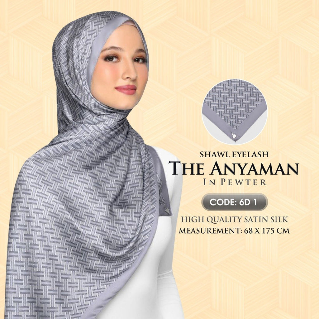 dUCk The Anyaman Shawl Collection