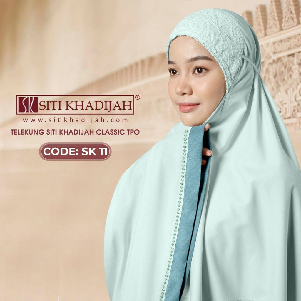 Telekung  SK Collection - Free Woven Bag