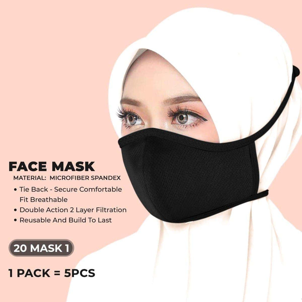 New Superior Quality Face Mask (Tie Back) Collection