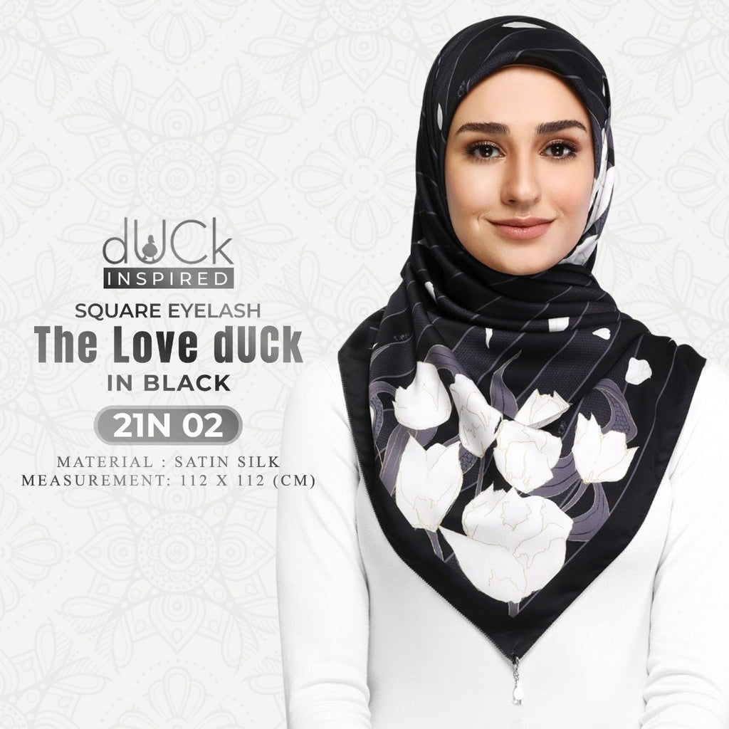 The Love dUCk Square Eyelash Collection