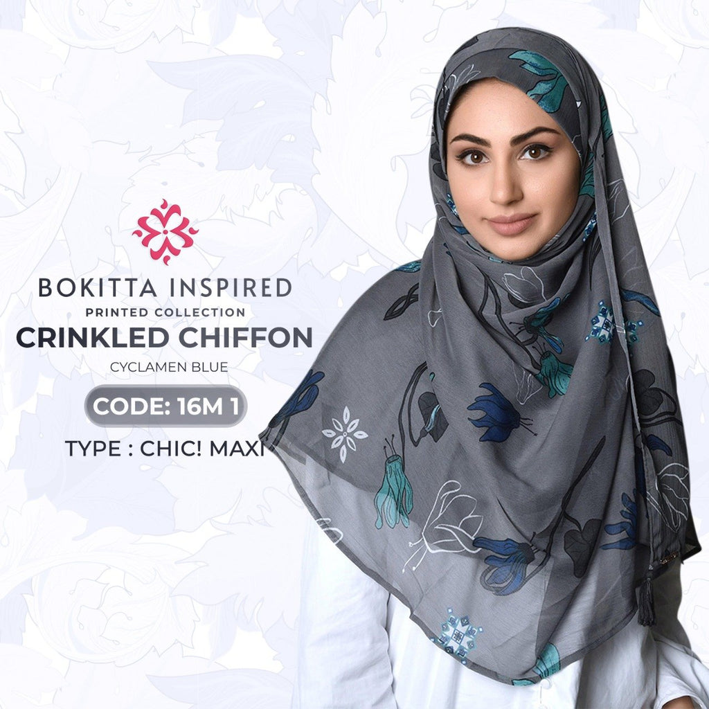 Bokitta CHIC!Maxi Printed Crinkled Chiffon Collection