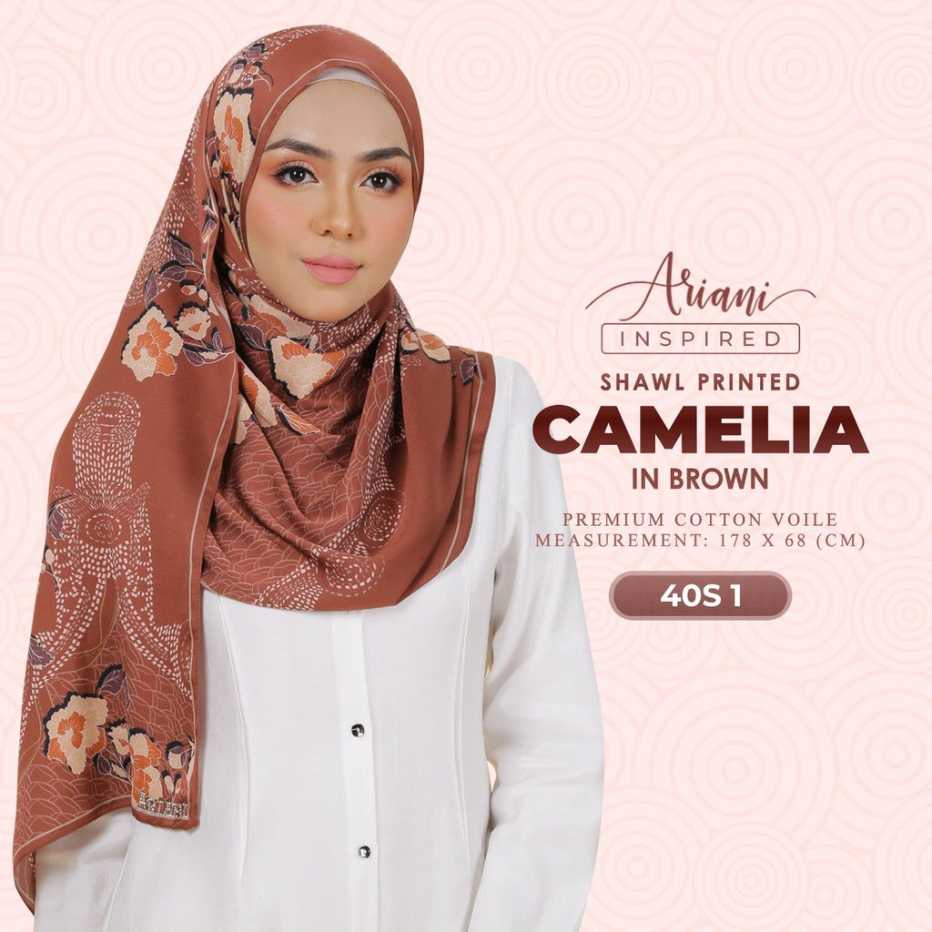 Ariani Camelia Printed Shawl Collection