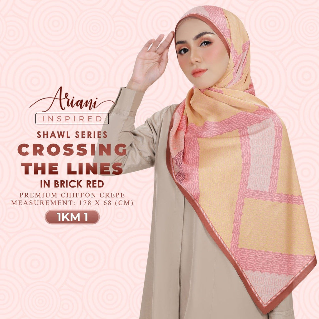 Ariani Crossing The Lines Printed Shawl Collection