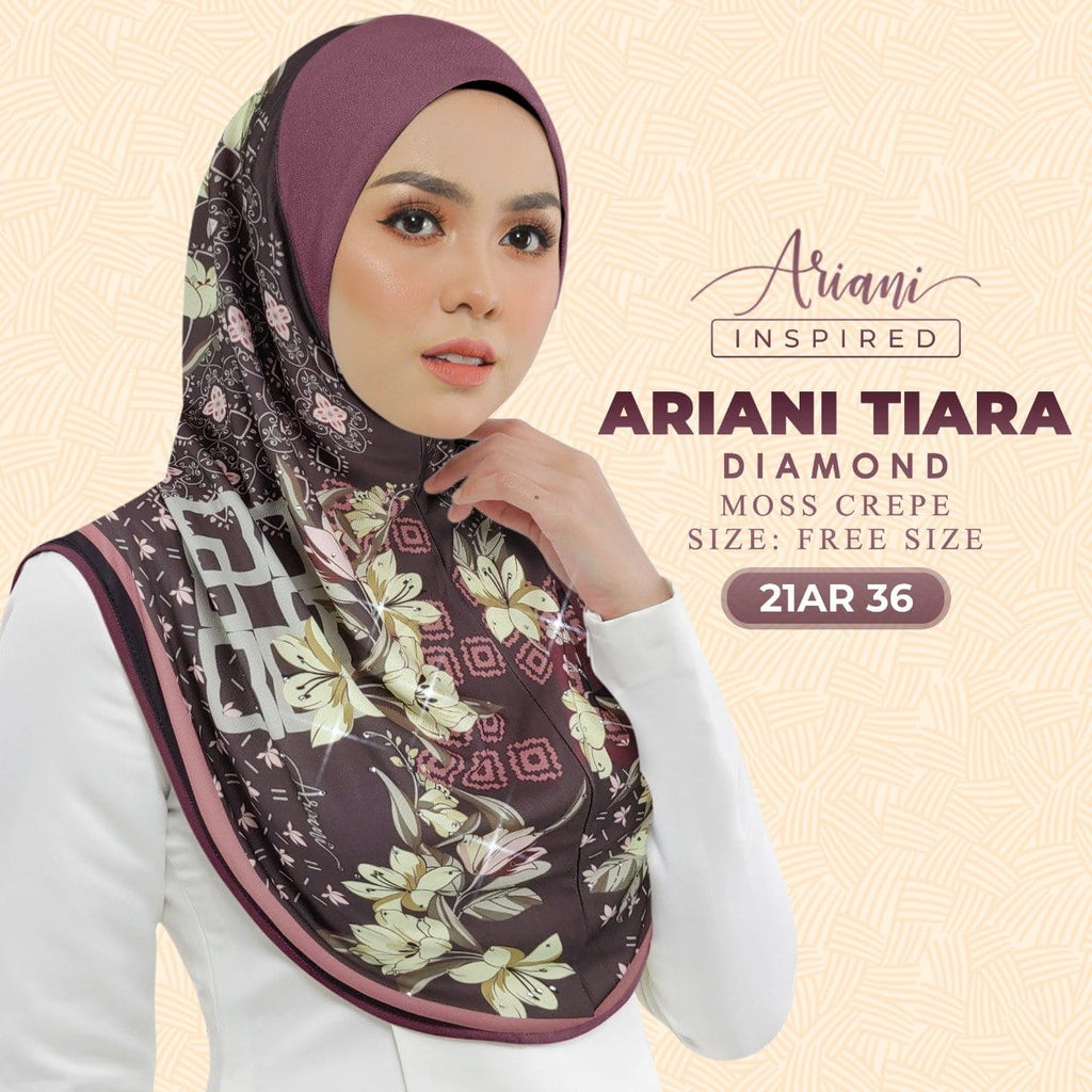 Ariani Printed Sarung Tiara Baguette 3.0 Collection