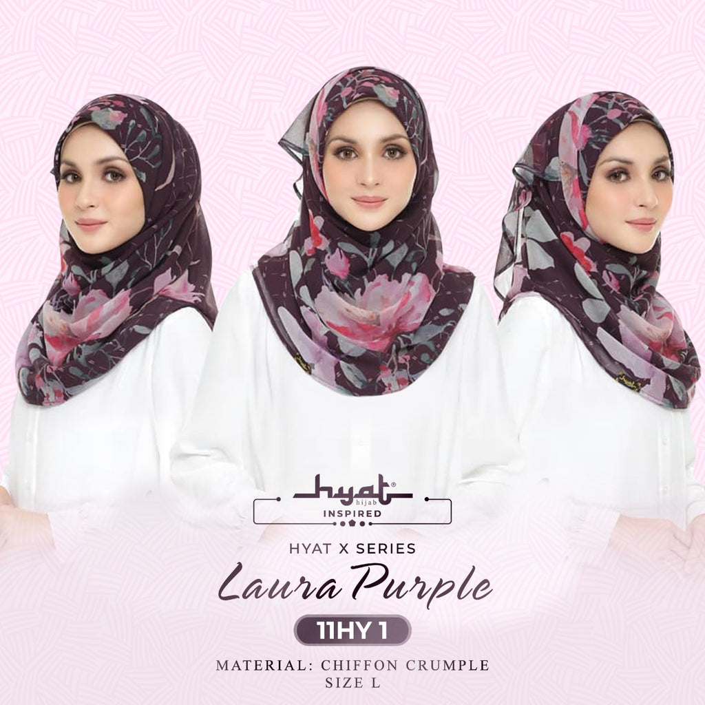 Hyat X & Shawl Series - Laura Collection