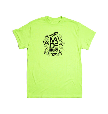 MADE Arrow Neon Tee