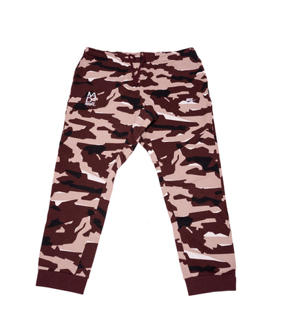"MADE Nike ""Brown Camo"" Sweats"